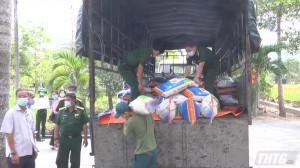Tập đoàn Lộc Trời tặng 10 tấn gạo hỗ trợ công tác phòng chống dịch Covid-19