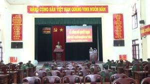 Công bố quyết định giải thể Trường Quân sự tỉnh Tiền Giang