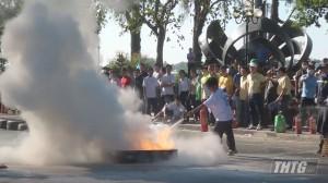 Khai mạc hội thi An toàn vệ sinh lao động, phòng chống cháy nổ năm 2020