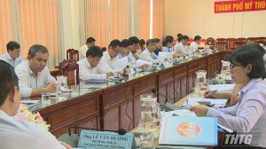 Chủ tịch UBND tỉnh Tiền Giang làm việc với lãnh đạo UBND Tp. Mỹ Tho