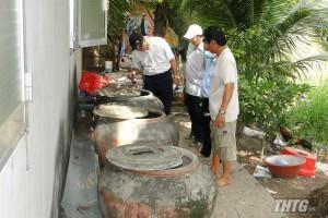 Trung tâm Kiểm soát bệnh tật Tiền Giang giám sát phòng chống sốt xuất huyết đầu mùa mưa