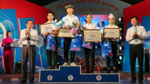 Nam sinh THPT Vĩnh Kim chiến thắng cuộc thi tuần Đường đến vinh quang sau 4 vòng đều dẫn đầu