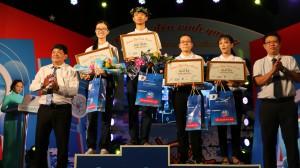 Teen Long An về nhất tuần bằng điểm số ở những phút cuối cuộc thi Đường đến vinh quang