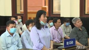 Ngày thứ 2 xét xử Phan Văn Hoàng – Nguyên Phó Chủ tịch UBND Tp. Mỹ Tho và các đồng phạm
