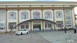 Gò Công Đông nghiệm thu và đưa vào sử dụng Nhà luyện tập thể thao