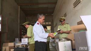 Kiểm tra đột xuất cơ sở kinh doanh vật tư nông nghiệp