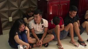 Thuê phòng khách sạn để sử dụng ma túy, 13 nam nữ thanh niên bị tạm giữ