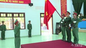 Trung đoàn 924 tổ chức lễ tuyên thệ chiến sĩ mới