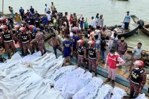 Chìm tàu ở Bangladesh, ít nhất 30 người thiệt mạng