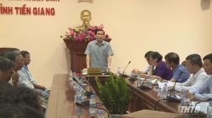 Chủ tịch UBND tỉnh Tiền Giang tiếp công dân huyện Tân Phú Đông
