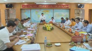 Trưởng Ban Nội chính Trung ương làm việc với Tỉnh ủy Tiền Giang về công tác chuẩn bị Đại hội Đảng