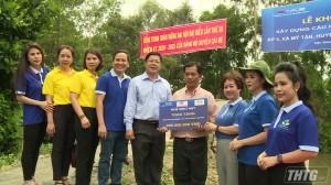 Quỹ Xã hội – Từ thiện Hành trình Xanh khởi công xây dựng nông thôn tại Cái Bè