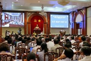 Khai mạc kỳ họp thứ 12 HĐND tỉnh Tiền Giang khóa IX