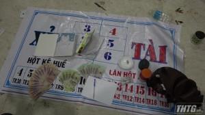 Công an Tiền Giang triệt phá tụ điểm đánh bạc tại Thị xã Cai Lậy