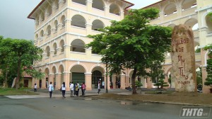 Tuyển sinh lớp 10 Trường THPT Nguyễn Đình Chiểu, tỷ lệ 1 chọi 1