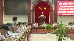 Bộ trưởng Bộ LĐTB-XH làm việc với tỉnh Tiền Giang