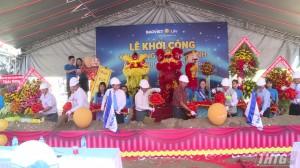 Khởi công xây dựng trụ sở chính công ty Bảo Việt nhân thọ Tiền Giang