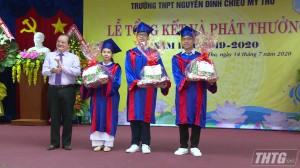 Trường THPT Nguyễn Đình Chiểu và THPT Chuyên Tiền Giang tổng kết năm học 2019 – 2020