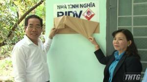BIDV Mỹ Tho tặng nhà nhà tình nghĩa cho gia đình chính sách