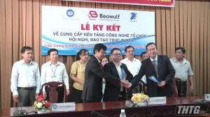 Trường Đại học Tiền Giang ký kết thực hiện cung cấp nền tảng công nghệ
