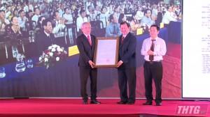 Công bố và ra mắt Thị xã Cai Lậy đạt chuẩn đô thị loại III