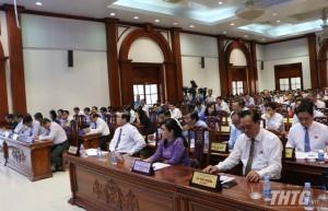 Công tác phòng chống hạn mặn và an ninh trật tự được chất vấn nhiều nhất tại kỳ họp thứ 12 HĐND tỉnh
