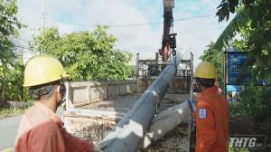 Tiền Giang diễn tập phòng chống thiên tai an toàn điện