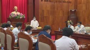 Tiền Giang dự kiến xử phạt không đeo khẩu trang nơi công cộng để phòng chống dịch Covid-19
