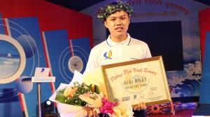 Nam sinh THPT chuyên Tiền Giang giành nguyệt quế tuần Đường đến vinh quang dù 2 vòng đầu không dẫn điểm