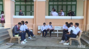 Tiền Giang Công bố điểm chuẩn lớp 10 năm học 2020-2021