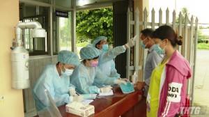 Chủ tịch UBND tỉnh Tiền Giang kiểm tra công tác phòng, chống dịch COVID-19 tại các cơ sở y tế