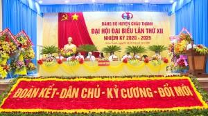 Đảng bộ huyện Châu Thành – Một nhiệm kỳ đoàn kết và đổi mới