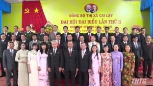 Ông Phan Phùng Phú tái đắc cử Bí thư Thị ủy Cai Lậy, nhiệm kỳ 2020-2025