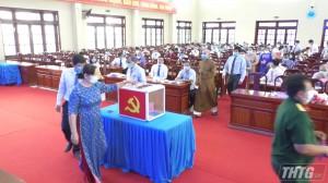HĐND huyện Cai Lậy bầu bổ sung các chức danh Chủ tịch HĐND, Chủ tịch UBND và Phó Chủ tịch UBND huyện