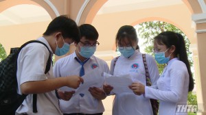 Ngày thi tốt nghiệp THPT đầu tiên ở Tiền Giang diễn ra an toàn, nghiêm túc và đúng quy chế