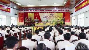 Đại tá Nguyễn Văn Nhựt tái đắc cử Bí thư Đảng ủy Công an Tiền Giang