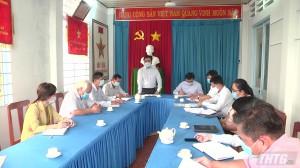 Phó Chủ tịch UBND tỉnh Tiền Giang kiểm tra công tác phòng, chống dịch Covid-19 tại huyện Cai Lậy