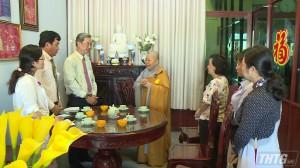 MTTQ Tiền Giang chúc mừng Đại lễ Vu Lan