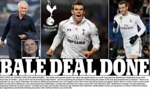 Gareth Bale đồng ý gia nhập Tottenham