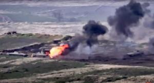 Armenia – Azerbaijan giao tranh ác liệt, bắn rơi cả trực thăng