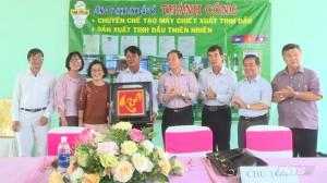 Thẩm định giải thưởng nhân tài đất việt cho nông dân Tiền Giang