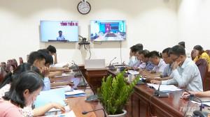 Tiền Giang tổ chức hội nghị trực tuyến phát triển chợ nông thôn