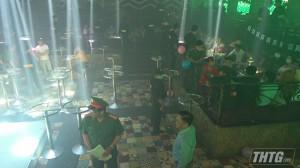 Bắt quả tang 102 đối tượng sử dụng ma túy tại bar New Club