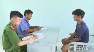 Công an huyện Tân Phước bắt giữ các đối tượng thực hiện  hàng chục vụ trộm xe môtô
