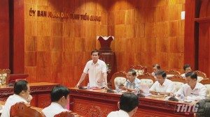 Dự kiến có 32 tham luận được trình bày tại Đại hội Đảng bộ tỉnh Tiền Giang, nhiệm kỳ 2020-2025