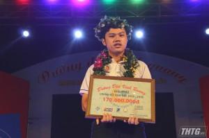 """Nguyễn Hồ Tiến Đạt giành vòng nguyệt quế """"Đường đến vinh quang"""" năm thứ 11"""