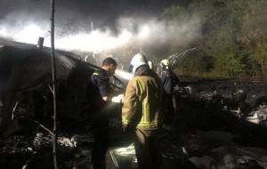 Rơi máy bay quân sự Ukraine, ít nhất 22 người chết