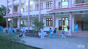 Tiền Giang tiếp nhận 233 công dân Việt Nam từ Singapore về cách ly y tế tại địa phương