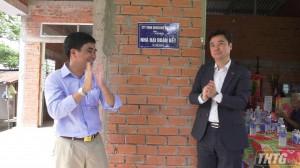 Công ty WooSung Việt Nam bàn giao nhà đại đoàn kết tại xã Phú Cường