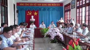 Tân Phú Đông phấn đấu đạt chuẩn huyện nông thôn mới năm 2024